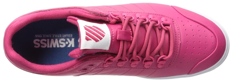K-Swiss Women's Gstaad Neu Sleek Fashion Sneaker B01LYBDGKJ 10 M US|Bright Rose/Bright Rose Iridescent