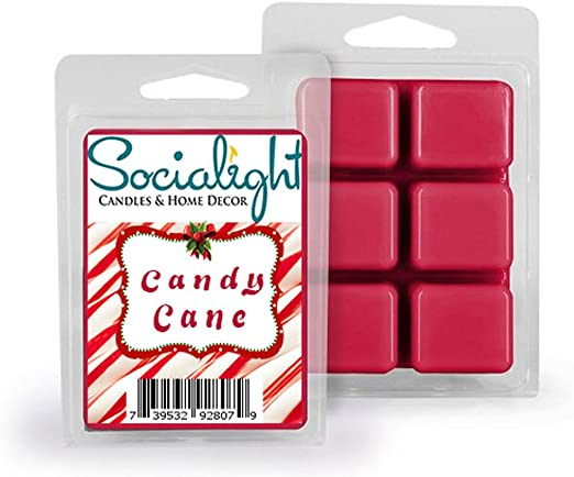 Yankee Candle Candy Cane Lane Box Of 24 Melts