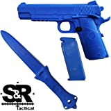 S&R Tactical Training Gun and Knife Combo Pack 1911