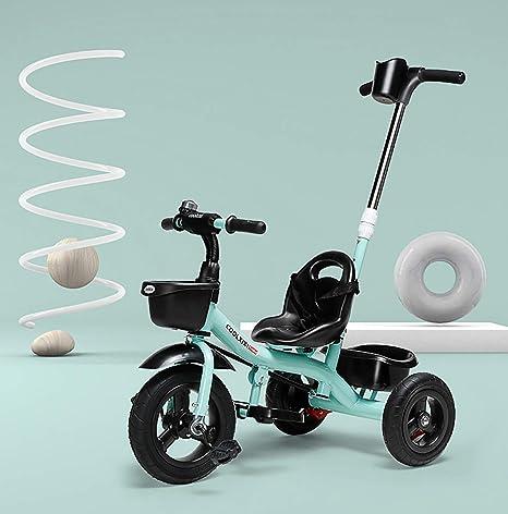AI-QX Triciclo Bebé con Barra Telescópica Extraíble Smart ...