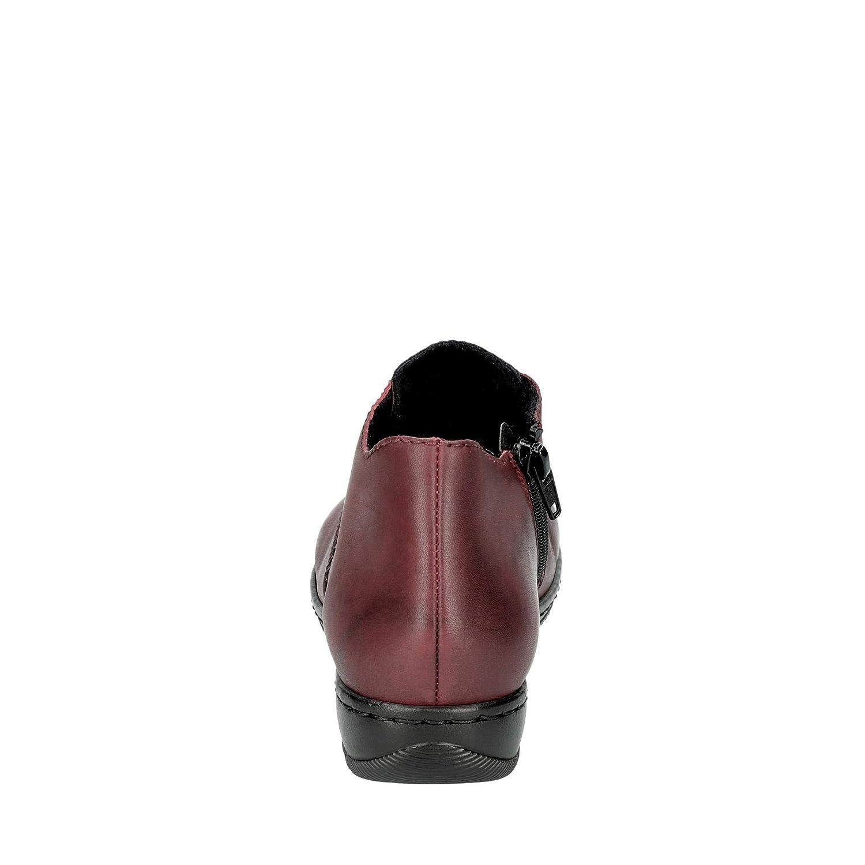 Rieker Damen-Stiefel Rot Gr/össe 38 41