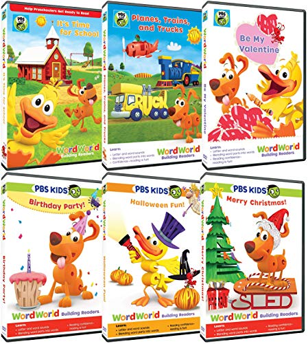 Word World Complete 6 DVD Collection - PBS Kids Educational TV Series - 35 Episodes -