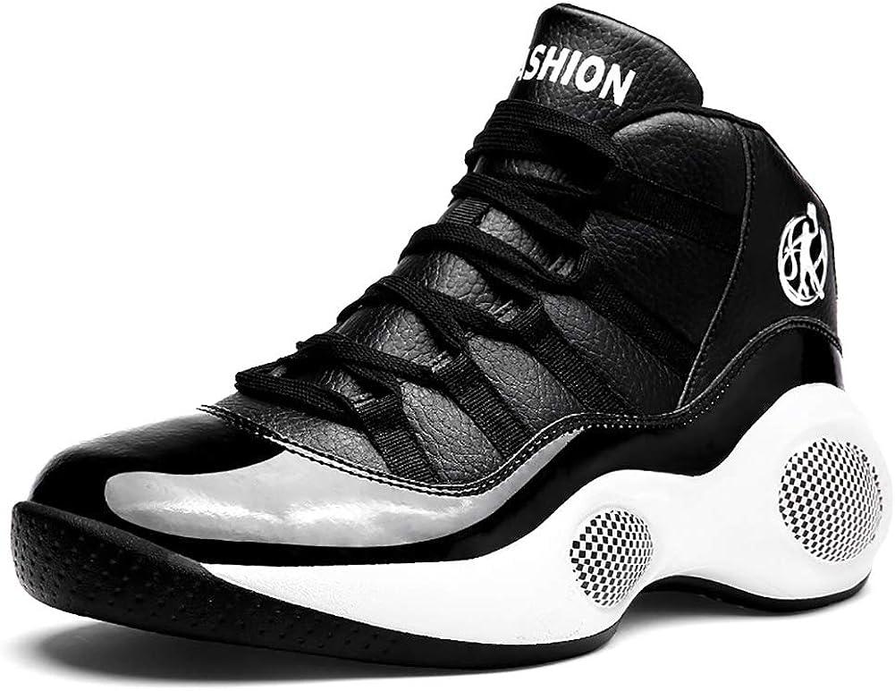 YUL Zapatillas de baloncesto para hombre, zapatillas de deporte ...