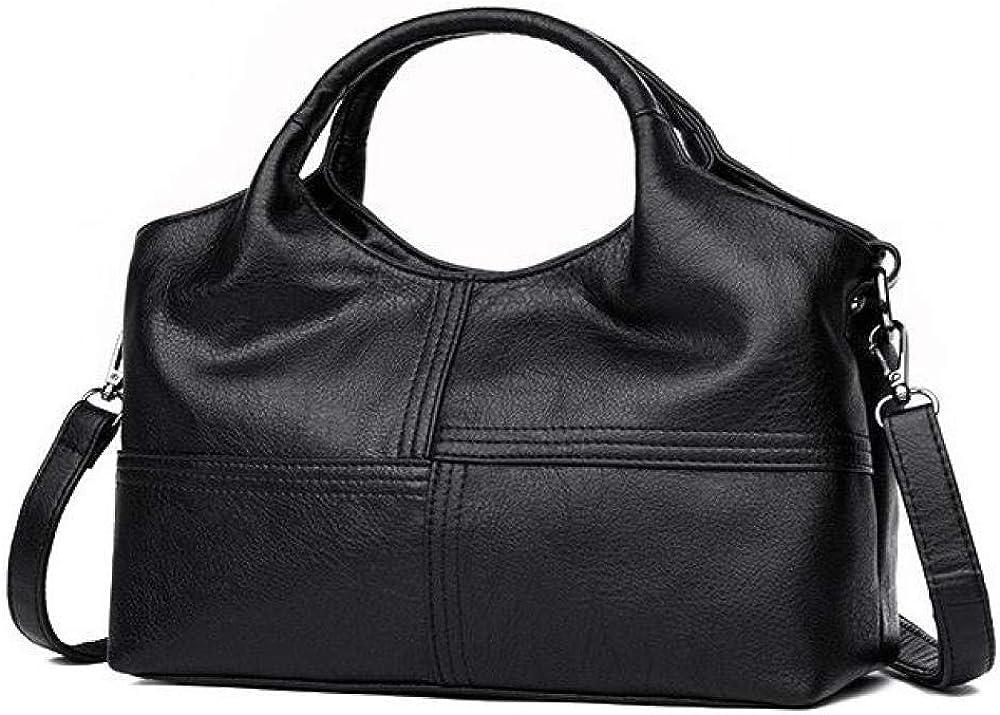 Womens Handbags Shoulder Bags Ladies Tote Bag,Soft leather fashion large-capacity shopping bag gift