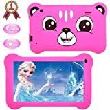 Kids Tablet,7 inch Android 9.0 Kids Edition Tablet with WiFi,GMS Certified, 2GB+16GB Tablet for Kids,Children Tablet with Par