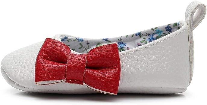 YanHoo Zapatos para niños Bebé Boca Baja Arco Zapatos de bebé ...