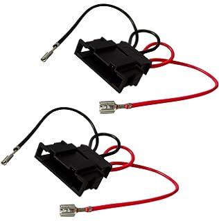 AERZETIX: 2 x Conectores adaptadores para altavoces de coche, vehiculos