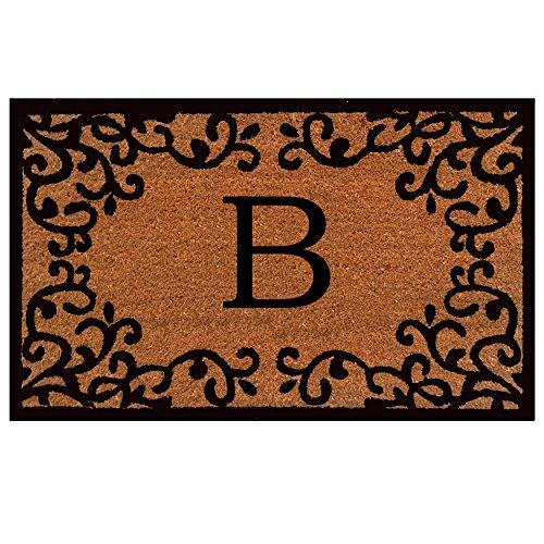 (Home & More 180022436B Chateaux Monogram Doormat 24