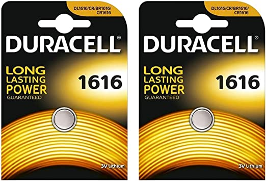 Duracell Two Cr1616 Lithium Knopfzelle 3 V In Elektronik