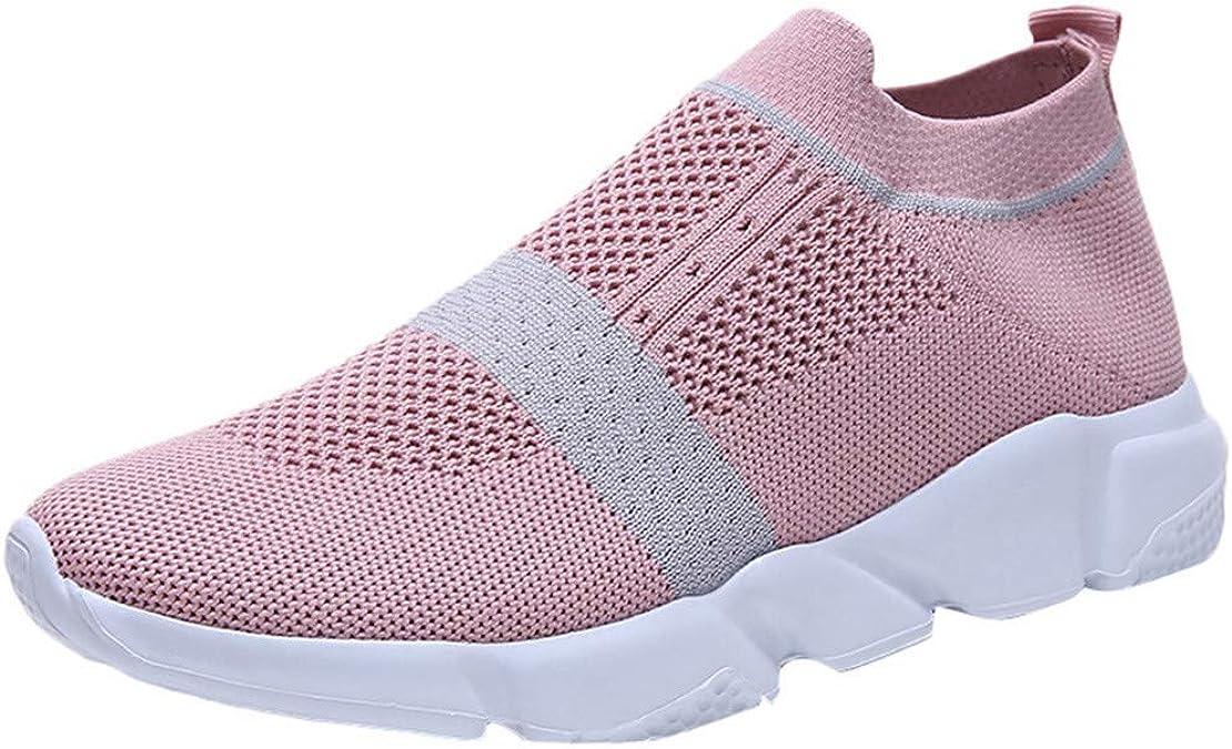 Zapatillas Deportivas De Mujer sin Cordones Baratas Malla Zapatos Running Fitness Sneakers Casual Rebajas Deporte Exterior Calzado: Amazon.es: Zapatos y complementos