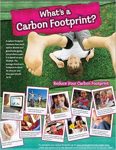 Amazon com: What's a Carbon Footprint? Cheap Chart (Cheap Charts