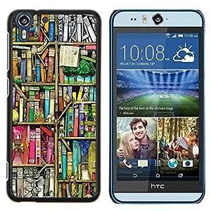 Dragon Case - FOR HTC Desire EYE M910x - I want to bring out - Caja protectora de pl??stico duro de la cubierta Dise?¡Ào Slim Fit