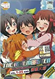 THE IDOLM@ STER - COMPLETE TV SERIES DVD BOX SET ( 1-25 EPISODES + MOVIE )