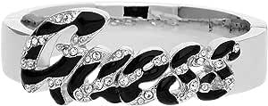 Guess Women's Metal Swarovski Wild At Heart Bracelet - UBB71206