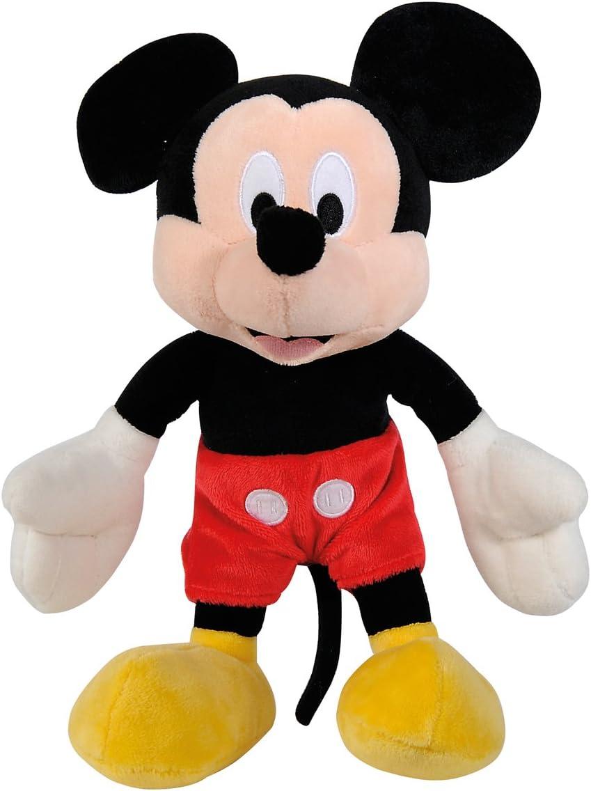 Simba 6315872632 Disney La Casa de Mickey - Peluche de Mickey básico (25 cm)