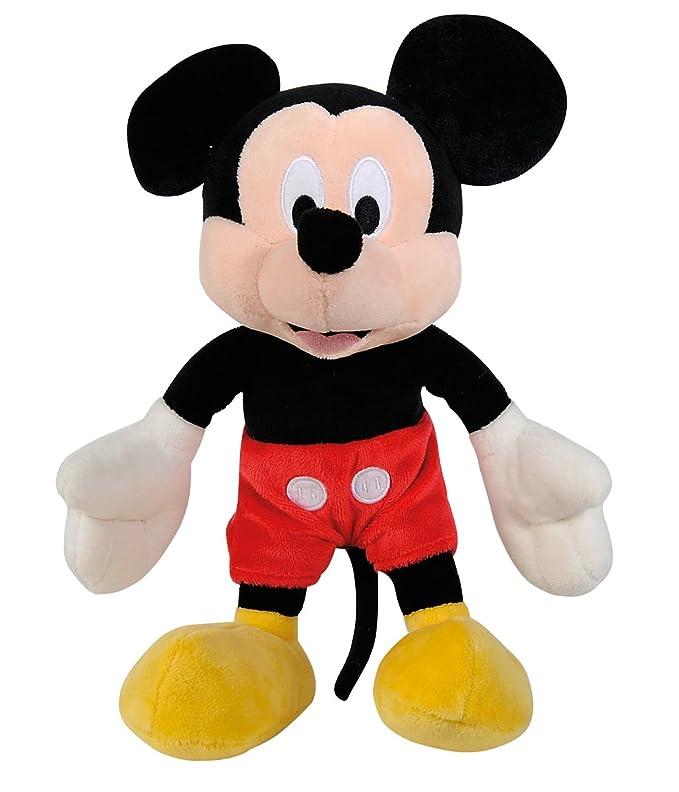 SIMBA 6315872638 Disney La Casa de Mickey - Peluche de Mickey básico (35 cm): Amazon.es: Juguetes y juegos