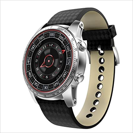 Amazon.com: Lblll KW99 Smart Watch Round Screen Android ...