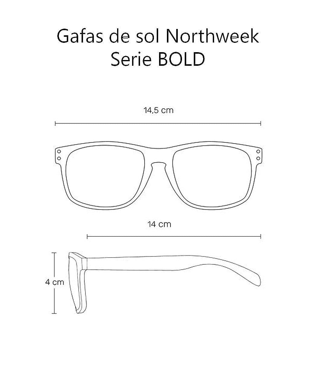 Gafas Sol Sunglasses UNISEX Northweek SERIE BOLD GRADIANT AZUL - lente AZUL POLARIZADA: Amazon.es: Ropa y accesorios