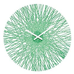 koziol SILK Wall Clock, mint