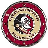 Florida State Seminoles NCAA 12 Inch Round Chrome