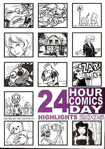 Book cover from 24 Hour Comics Day Highlights 2005 by Ben Avery