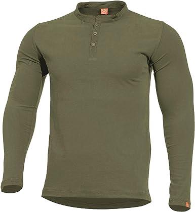 Pentagon Romeo Henley Hombre Camisa Oliva tamaño 3XL: Amazon.es: Ropa y accesorios