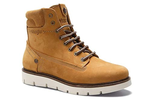 1bbf840ce Wrangler Women Boots WL182510 Tucson TAN: Amazon.co.uk: Shoes & Bags