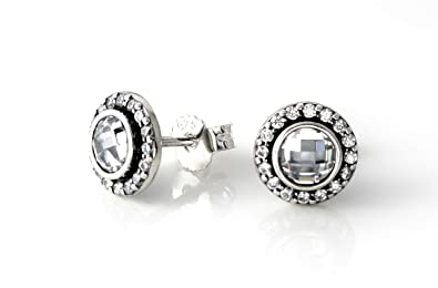 9bde9c979 ... cheapest pandora statement sparkling stud earrings with pandora gift  box 82016 3a27f ...