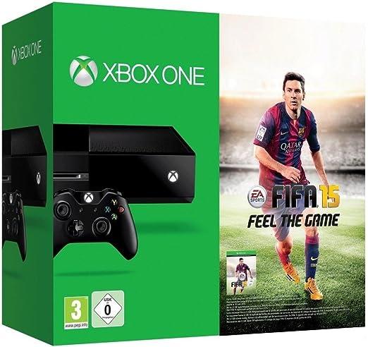 Xbox One - Consola Sin Kinect + FIFA 15: Amazon.es: Videojuegos