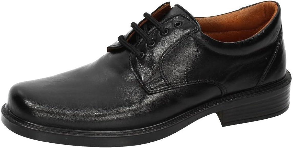 LUISETTI 0101 Mocasines Cordones Hombre Zapatos CORDÓN Negro 41 ...