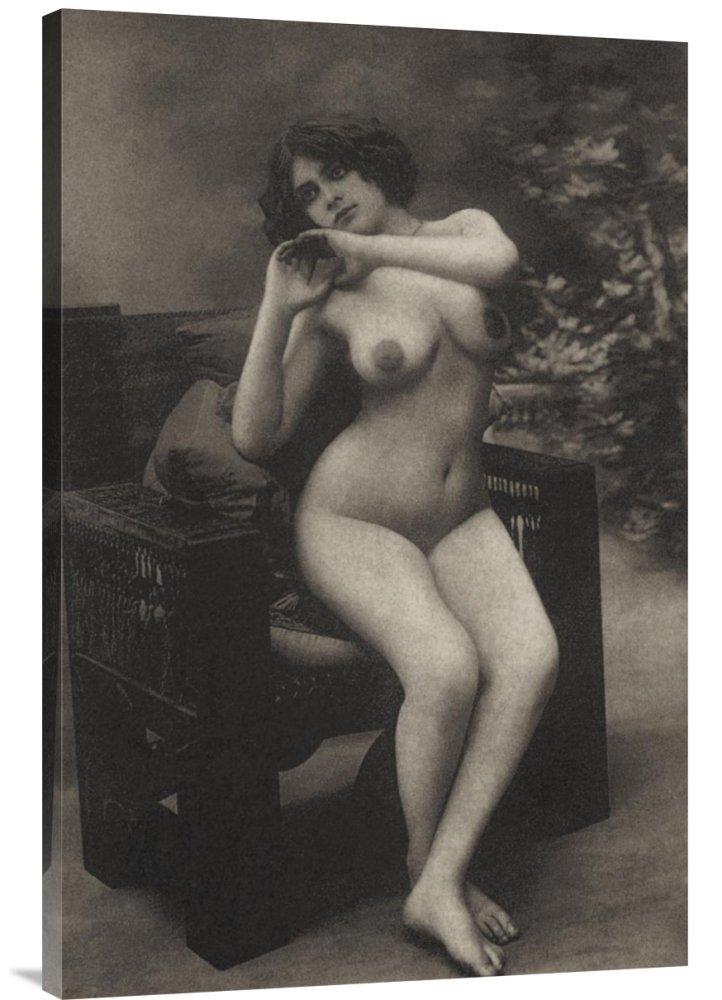 Global Gallery GCS-379363-36-142 ''Vintage Nudes Health And Youth'' Gallery Wrap Giclee on Canvas Wall Art Print