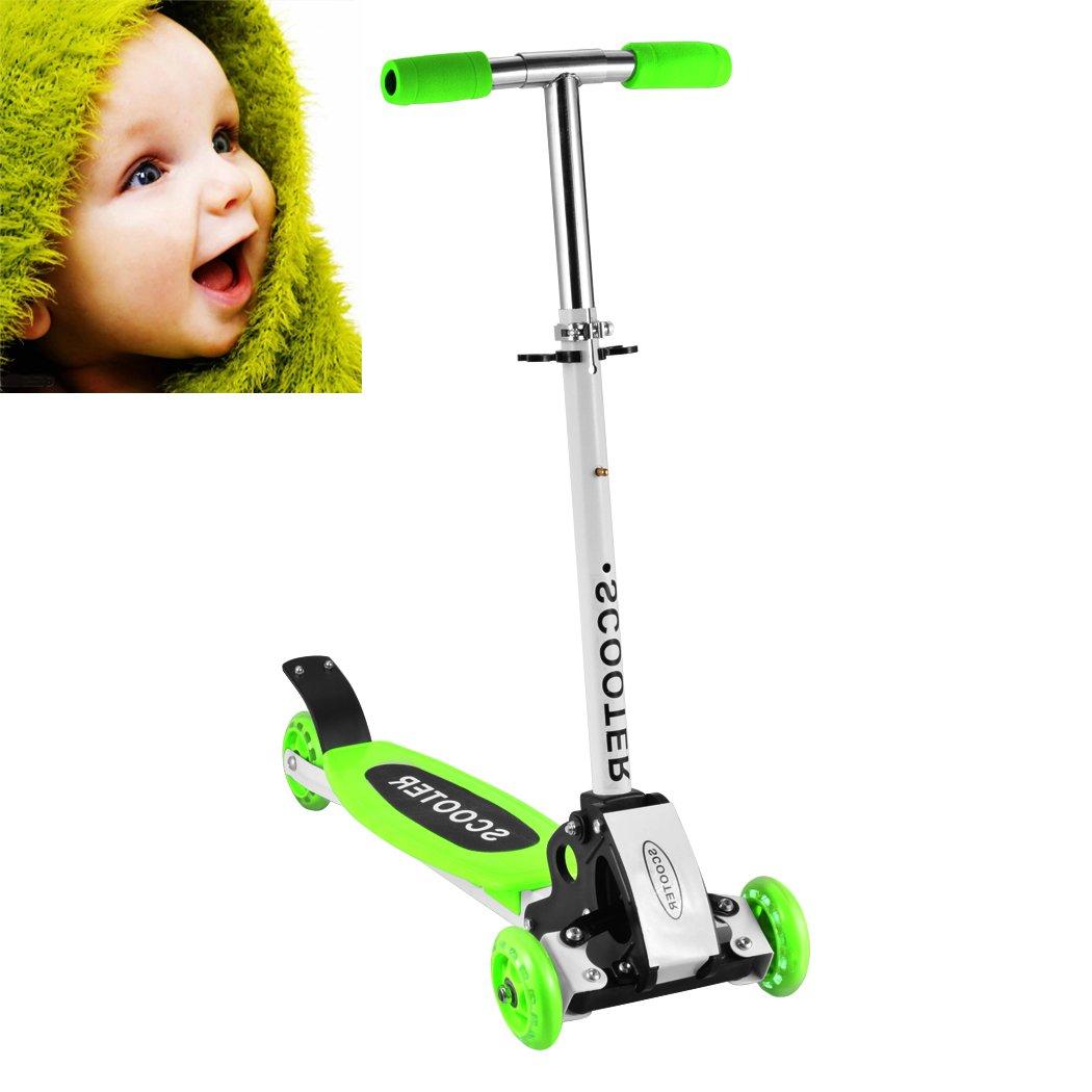 WeSkate Scooter - Mini Patinete de 3 Ruedas con Ruedas LED ...