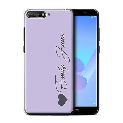 super popular c0ecb fecd3 Amazon.com: Personalized Custom Pastel Tones Case for Huawei Y6 ...