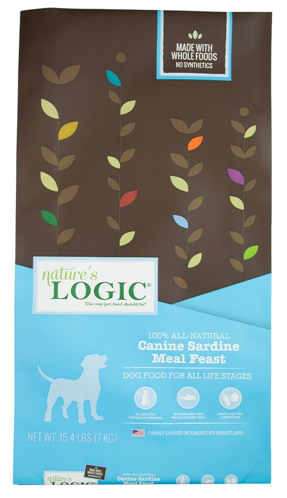 Nature's Logic Dry Sardine for Dog, 15.4 lb,