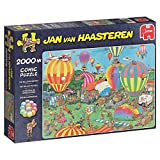 Jan van Haasteren 19053 The Balloon Festival 2000 Piece Jigsaw Puzzle
