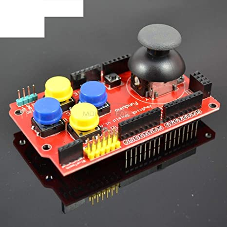 Magic/&shell 1PC Gamepad Joystick Shield Expansion Board Analog Keyboard for Arduino