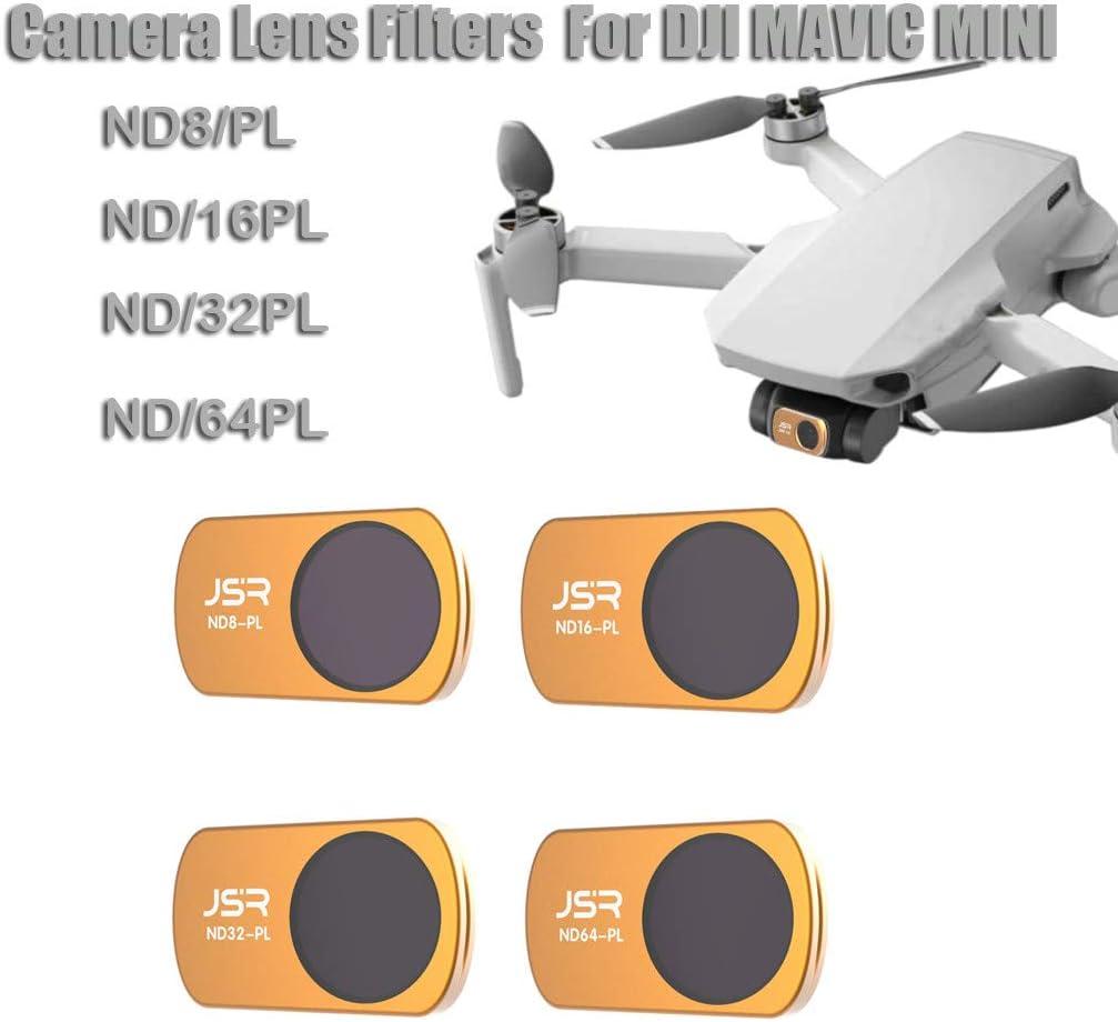 MCUV and Polarizer Filter Set ND16//PL ND8 ND16 ND32 ND32//PL ND4 ND8//PL CPL ND4//PL Yuege Aerial Filters for DJI Mavic Mini