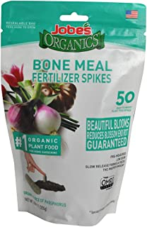 product image for Jobe's 06328 Bone Meal Fertilizer Spikes, 50, Natural