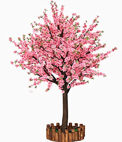 Amazoncom Vicwin One Artificial Cherry Blossom Trees Japanese