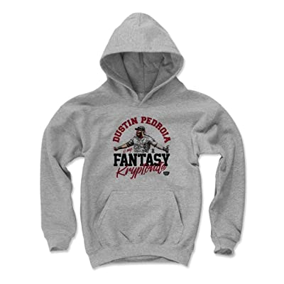 500 LEVEL Fantasy Baseball Kids Hoodie - Dustin Pedroia Kryptonite