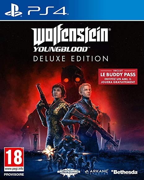 Wolfenstein Youngblood - Edición Deluxe PS4: playstation 4 ...