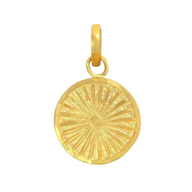 Popleys 22k  916  Yellow Gold Pendant Pendants