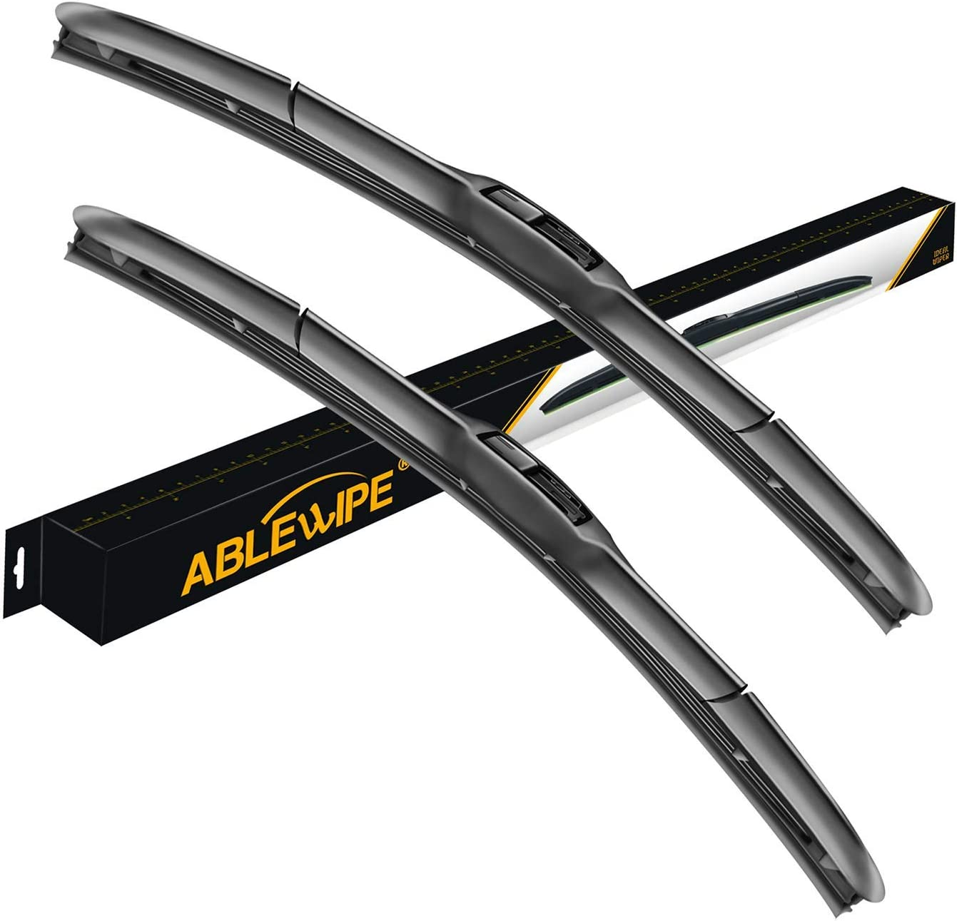 """18/"""" x 18/"""" Windshield Wiper Blades 2 PC OEM Quality All Weather Left /& Right Pair"""