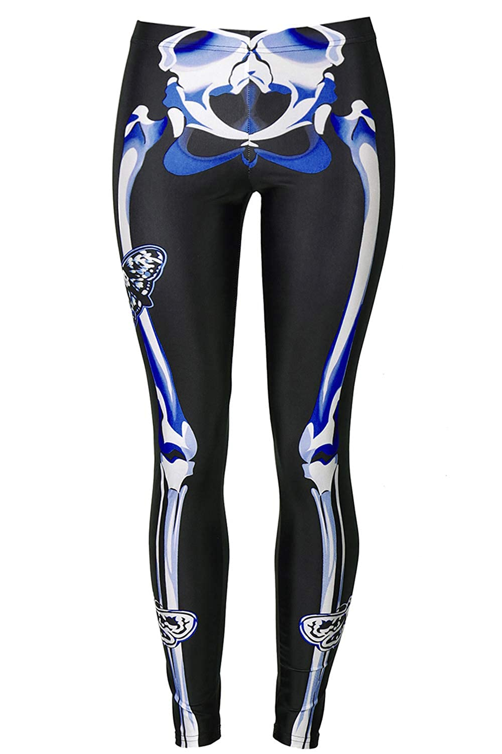 70ab646041d5f GLUDEAR Women's Halloween Print High Waist Leggings Stretch Full Length Tights  Workout Pants at Amazon Women's Clothing store: