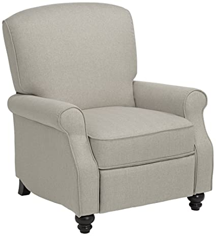 Jerrod Barley Herringbone Push Back Recliner Chair