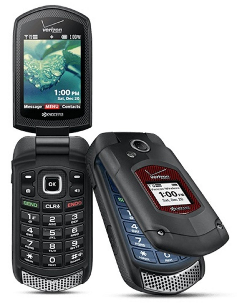 Kyocera DuraXV+ E4520PTT Black Cellphone Verizon (Certified Refurbished)