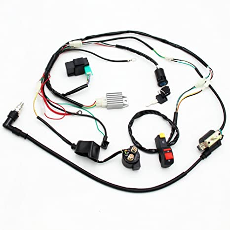 Amazon Com Full Electrics Coil Cdi Rectifier Wiring Harness 50cc