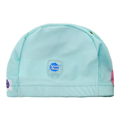 85f3e70d8d56 Amazon.com   Splash About Baby and Toddler Swim Hat Cap   Sports ...