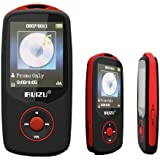 Evodigitals Red Ruizu 68GB Bluetooth Sports Lossless MP3 MP4 Player Music Video FM Tuner