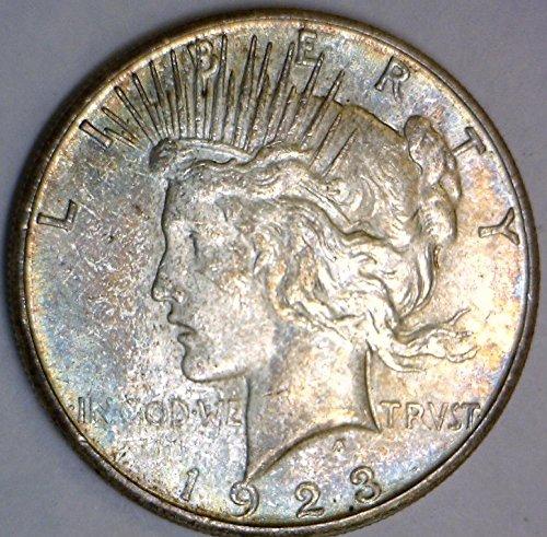 1923 S Peace Dollar Unc.